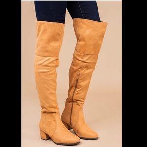 Like new OTK boots!